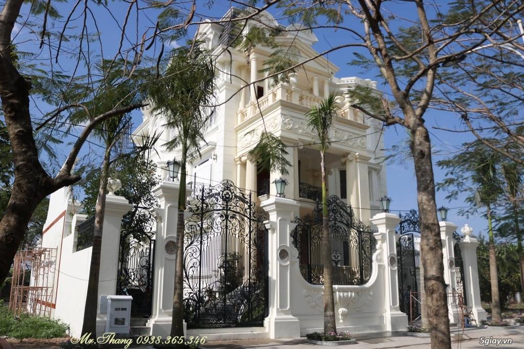 Cửa Cổng Sắt Mỹ Thuật Đẹp Sài Gòn - 3