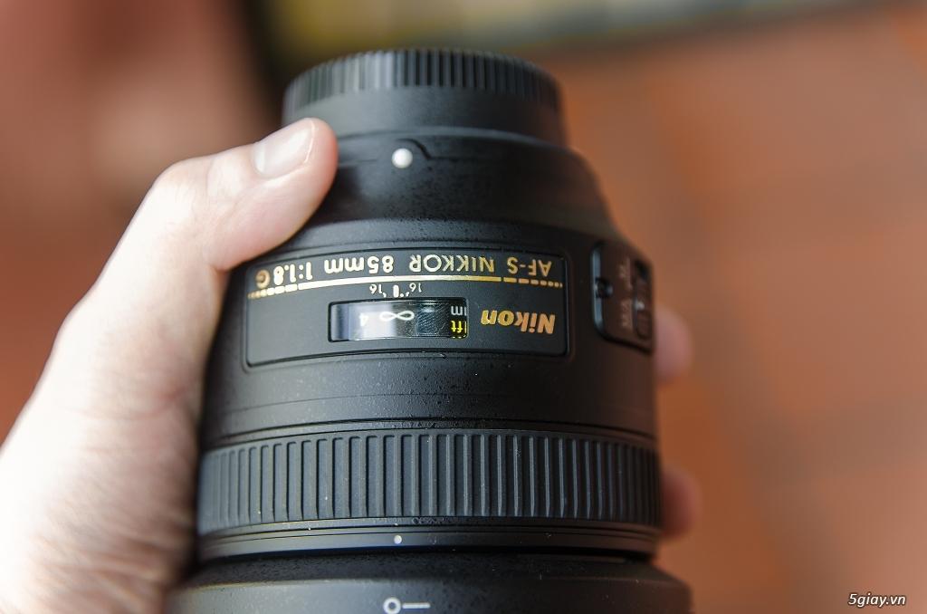 Do không còn nhu cầu sử dụng nên mình cần bán Lens 85mm f/1.8G