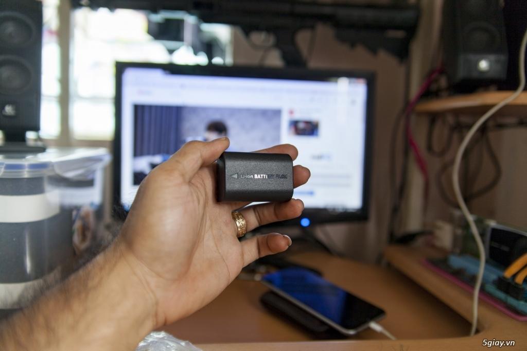 Thanh lý pin LP-E6 Washabi chính hãng, full 3 vạch, nguyên tem zin - 2