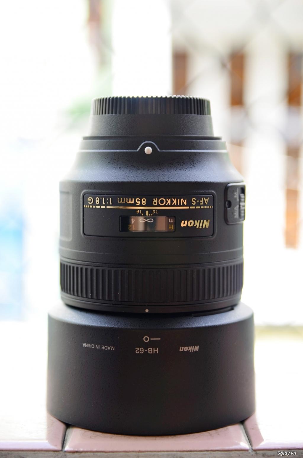 Do không còn nhu cầu sử dụng nên mình cần bán Lens 85mm f/1.8G - 1