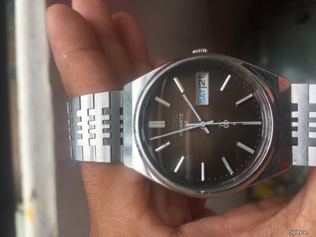 Đồng hồ cổ Seiko Quartz - Model 0923-8040-G - 2