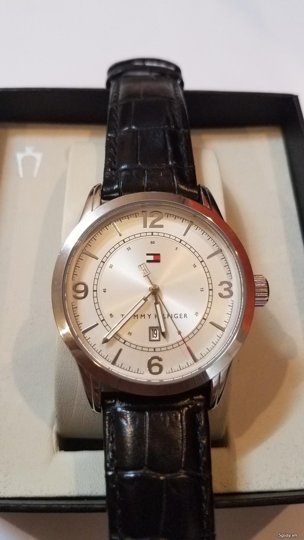 Đồng hồ chính hãng của Mỹ dư xài máy pin Quazt , máy tự động Automatic - 20