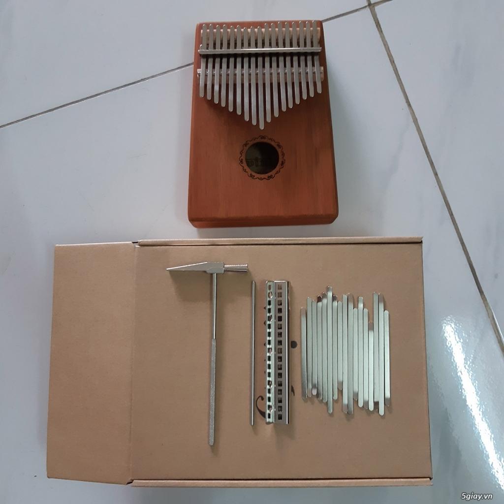 Đàn Kalimba 17 phím gỗ Mahogany - 4