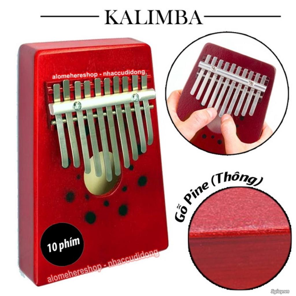 [Kalimba Shop] Chuyên các loại đàn Kalimba 10 15 17 phím, phụ kiện DIY