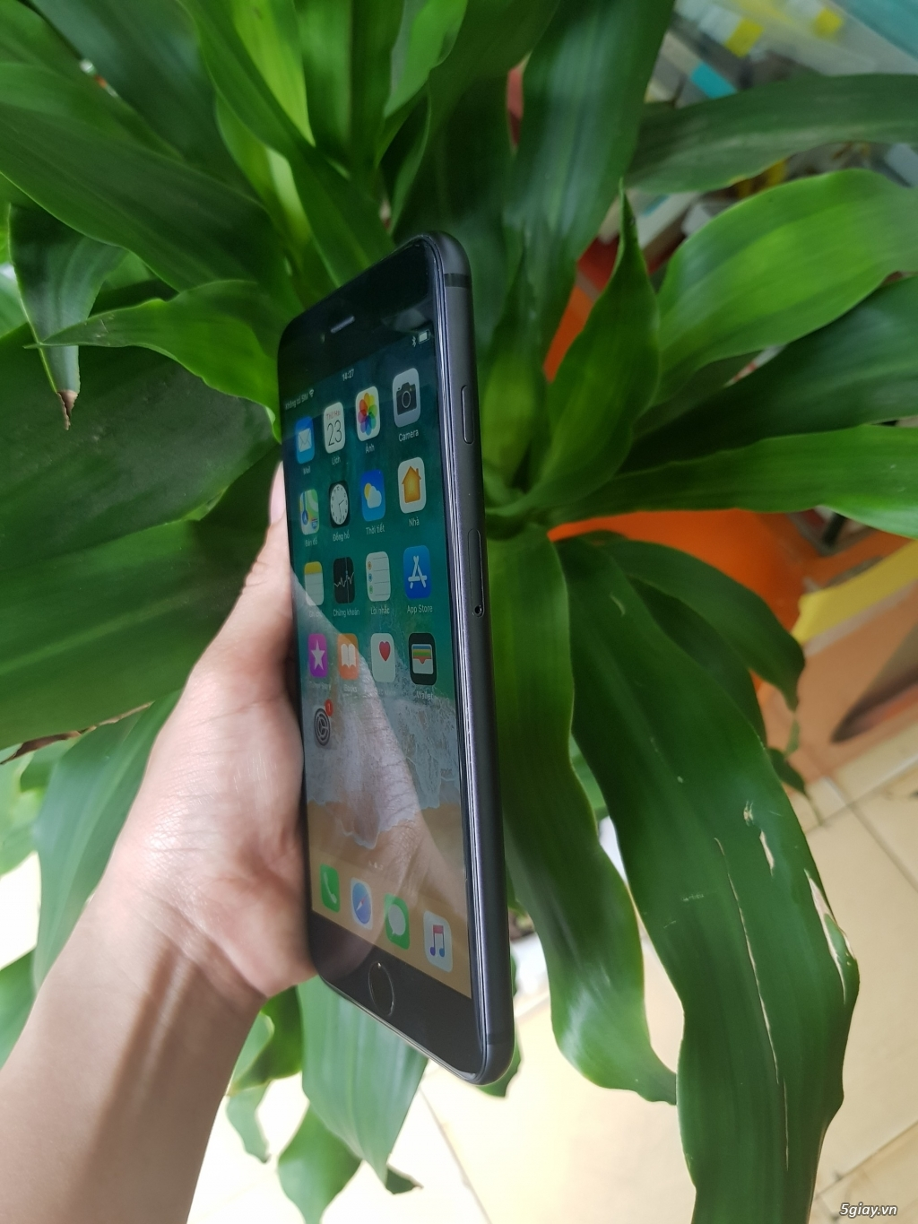 iphone 6 plus 16gb lên vỏ 8plud - 2