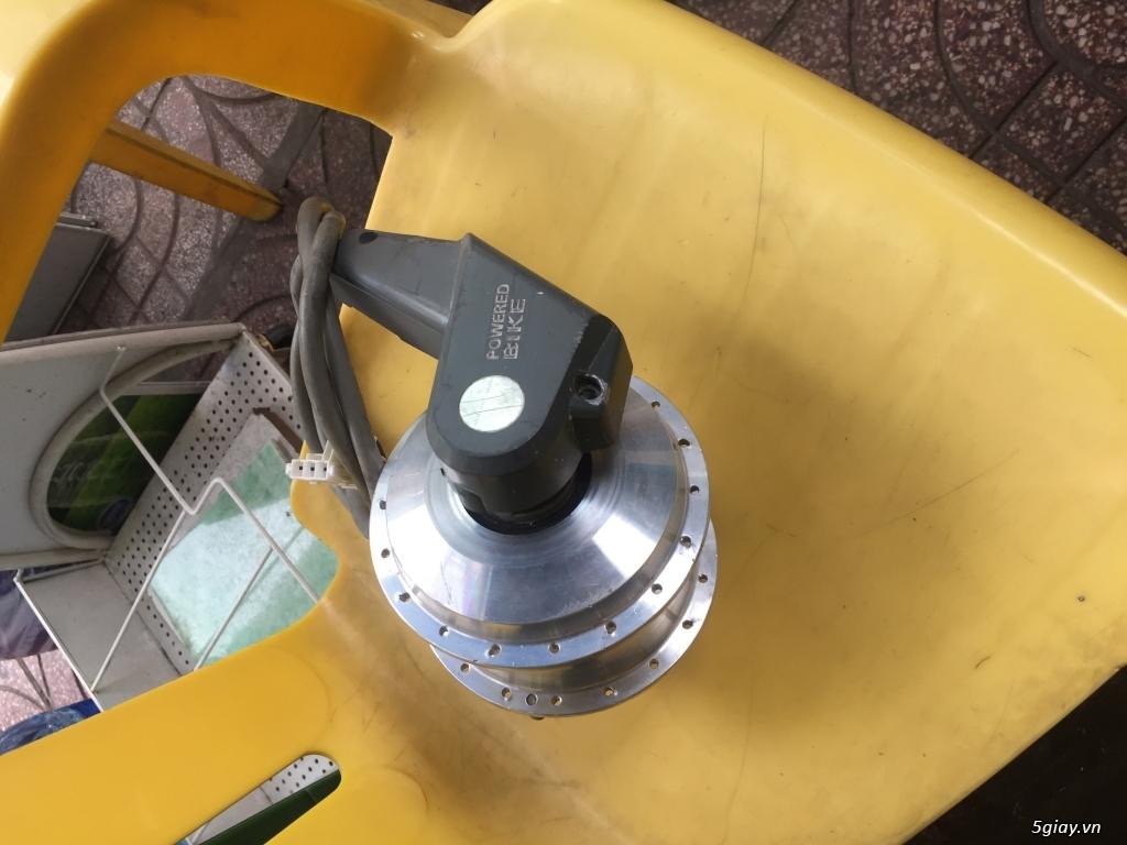 Motor chế xe đạp điện sanyo 3pha 24V/36V