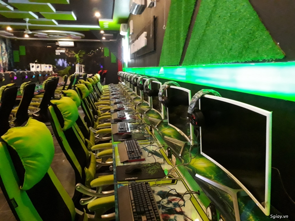 Lắp Đặt Phòng Cyber Game Chuyên Nghiệp | 5giay