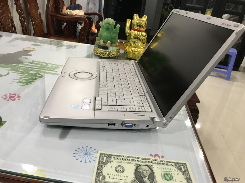 laptop PANASONIC, DELL, IBM I7 4600/4/500 GIÁ 3TR9 - 12