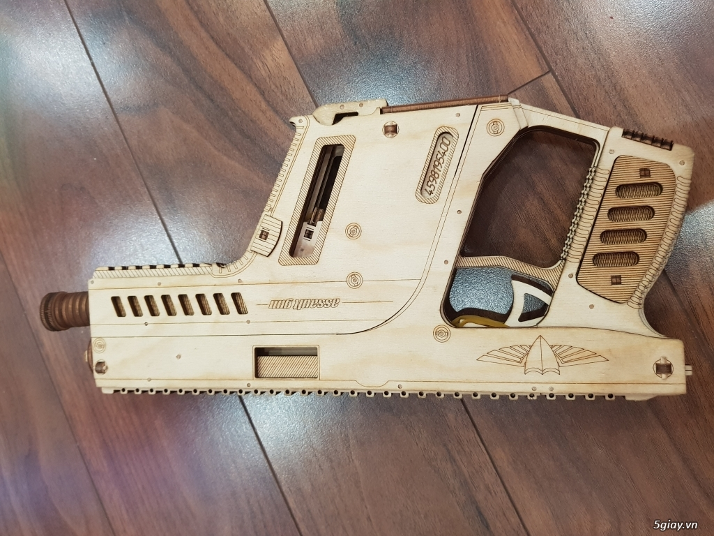 Mô hình cơ học DIY bằng gỗ - Ba mẹ và bé cùng chơi - 2