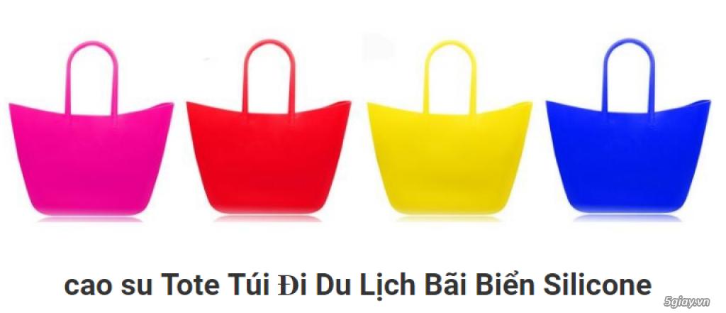 Túi xách silicone mẫu mới nhất năm 2018