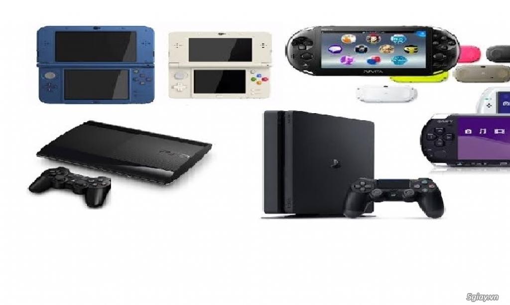 Thu Mua Máy Chơi Game DS 2DS 3DS Wii U SWITCH PSP PS3 PS4 VITA...