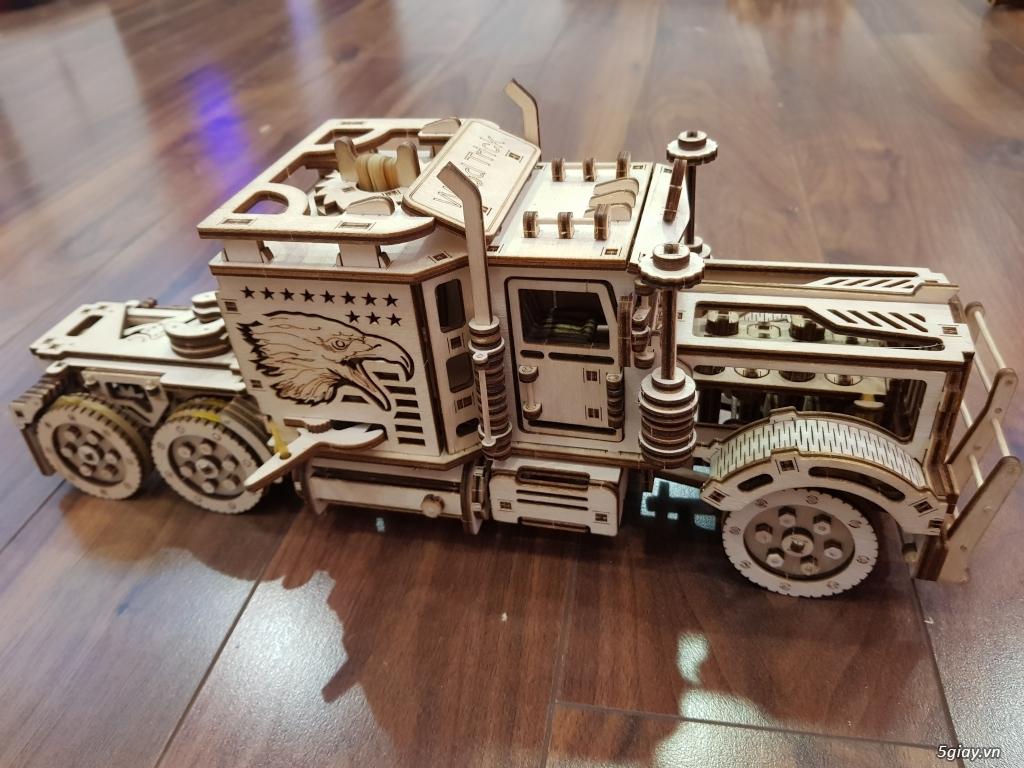Mô hình cơ học DIY bằng gỗ - Ba mẹ và bé cùng chơi