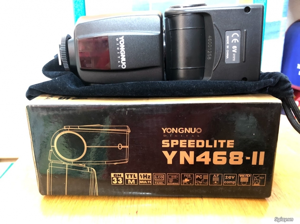 Cần bán bộ Canon 600D, len kit 18-55, len 50 1.8, flash, tripod - 1