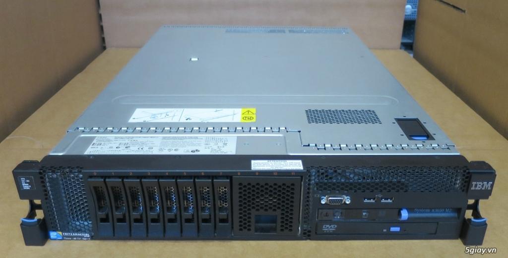 Máy chủ server DELL, HP, IBM, CISCO, FUJITSU, HITACHI bảo hành 3 năm - 4
