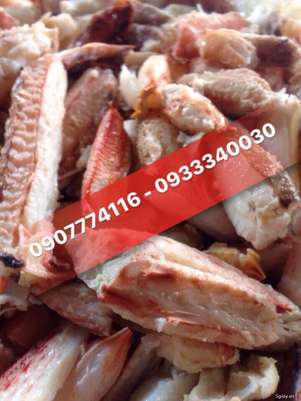 HOT        Thịt Càng Ghẹ, Thịt càng Cúm, Thớ Ghẹ, Thịt Cua, Các loại bóc sẵn Nấu Súp Cua, Bánh Canh.