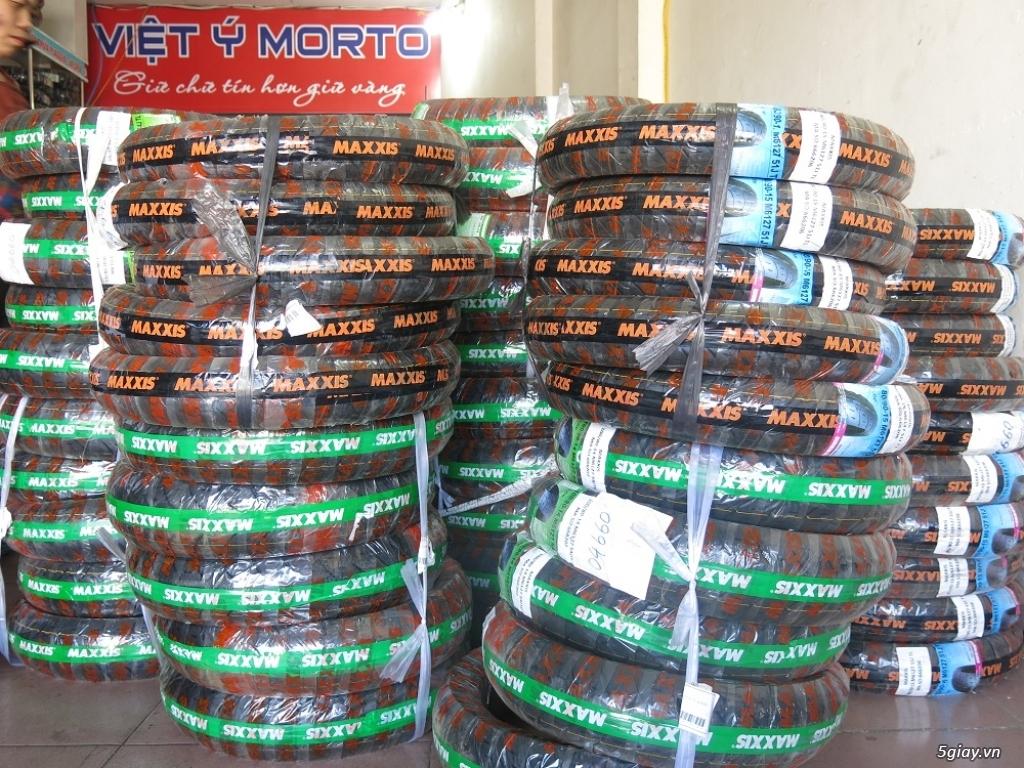 Bảng giá lốp các loại của dòng xe Vespa Piaggio
