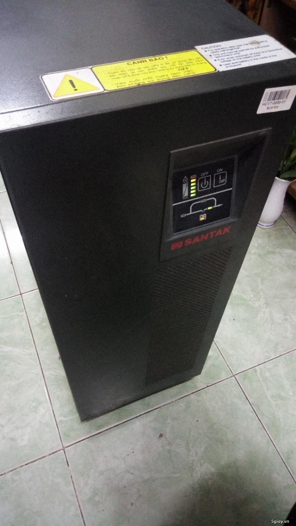 Bộ lưu điện ups santak c6k 6kva online phục vụ mọi nhu cầu mất điện - 2