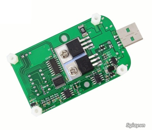 Bộ USB test đo dòng sạc điện thoại, kiểm tra pin sạc dự phòng, cục sạc - 23