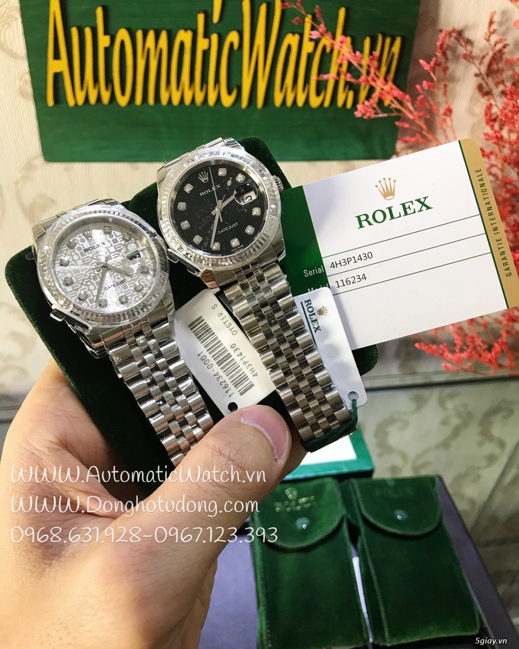 Chuyên đồng hồ Rolex,Hublot,AP, Patek Philippe...Replica1:1 Swiss Made - 33