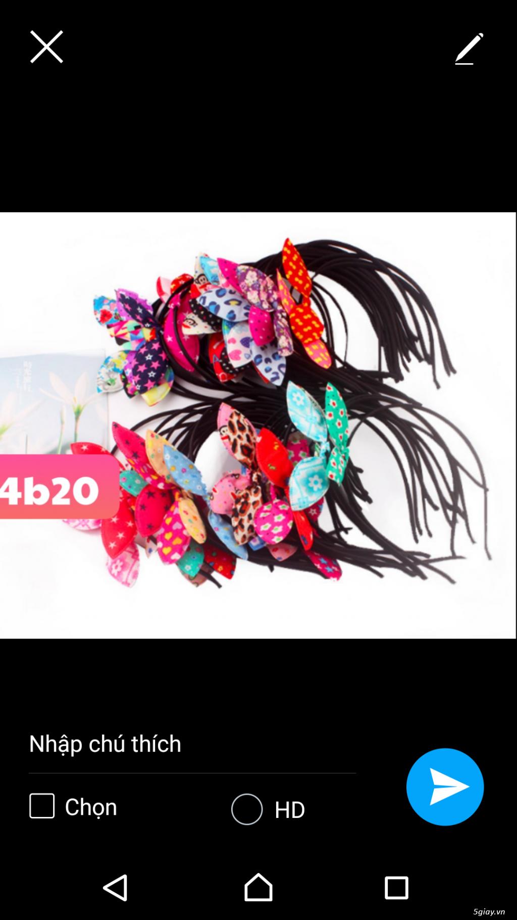 combo 100 cài tóc thời trang tai thỏ. giá sỉ 500k 100 cái. 0987217952 - 2