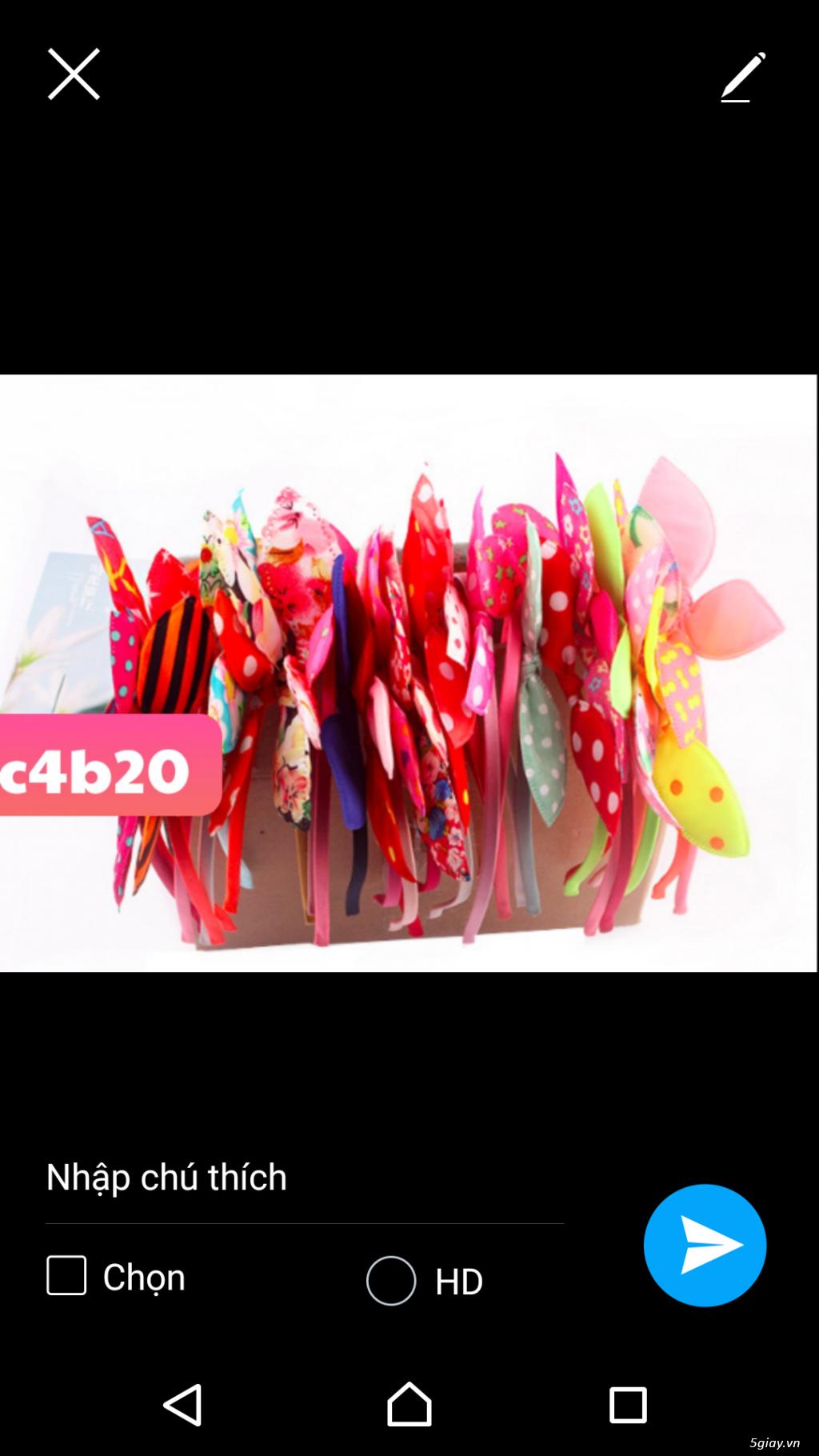 combo 100 cài tóc thời trang tai thỏ. giá sỉ 500k 100 cái. 0987217952 - 5