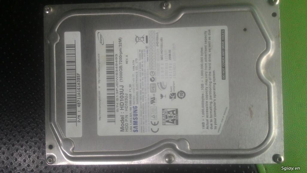 vài ổ cứng 1tb sức khỏe 100%
