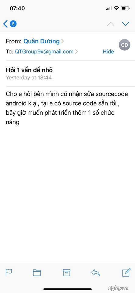 HCM - - Qt group - nhận code app android, app ios, website