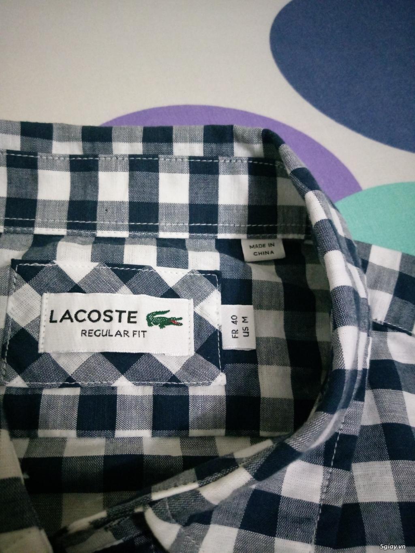 Áo Lacoste Original MỚI 100% Full tem tag lên sàn - 6
