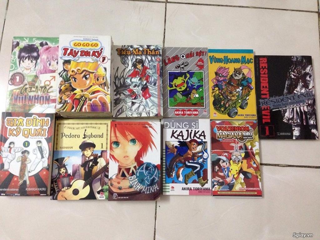 [HCM] Bán nhiều bộ truyện tranh, tiểu thuyết... - 4