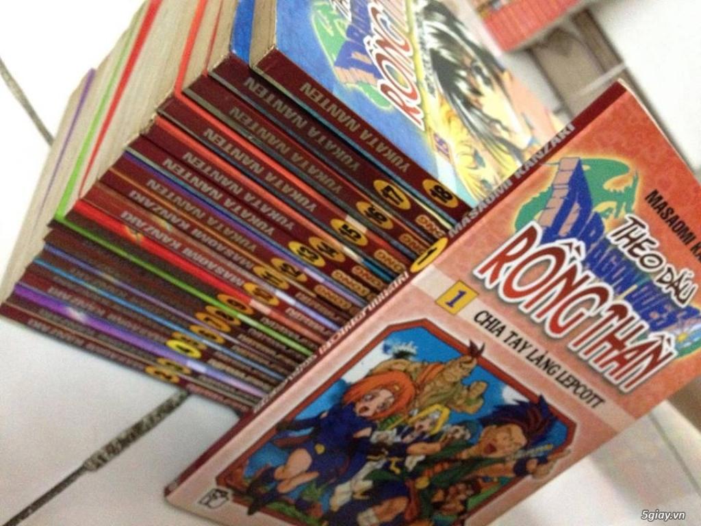 [HCM] Bán nhiều bộ truyện tranh, tiểu thuyết... - 13