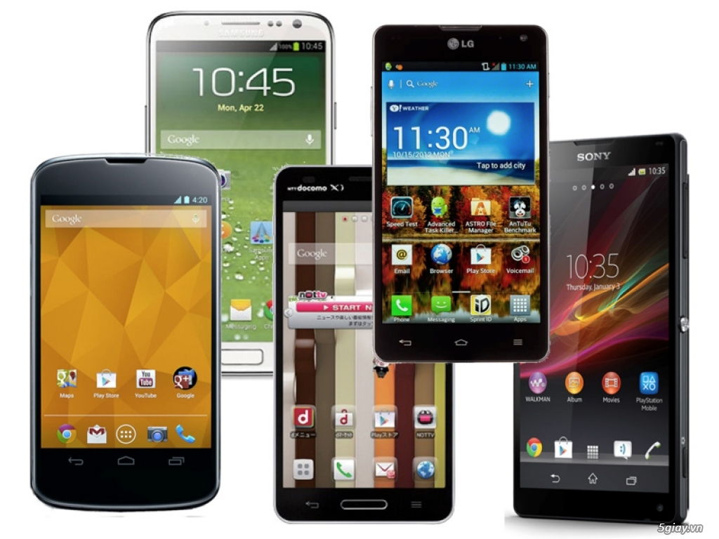 8 mẫu điện thoại cho thấy sự đa đạng của Android - 238683