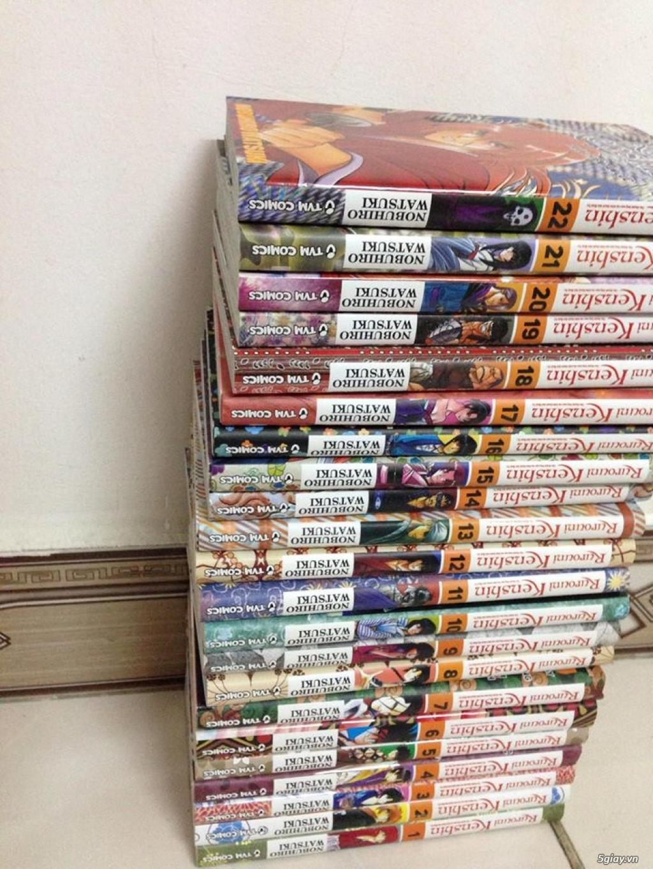 [HCM] Bán nhiều bộ truyện tranh, tiểu thuyết... - 2