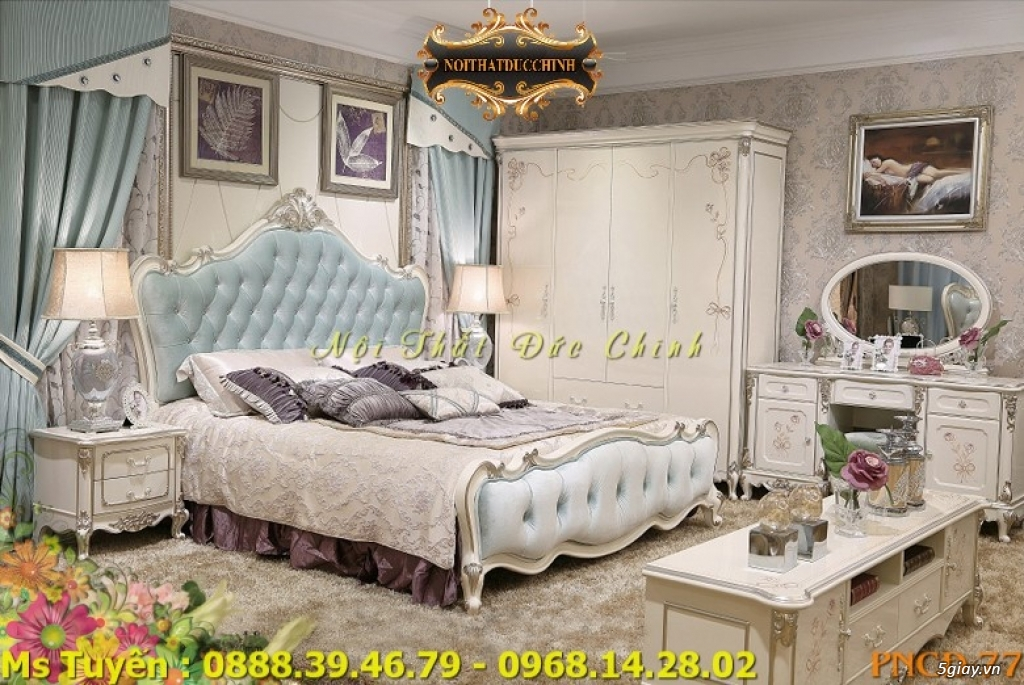 Ở đâu bán giường ngủ cổ điển Châu Âu giá rẻ tại quận 2, quận 7 - 2
