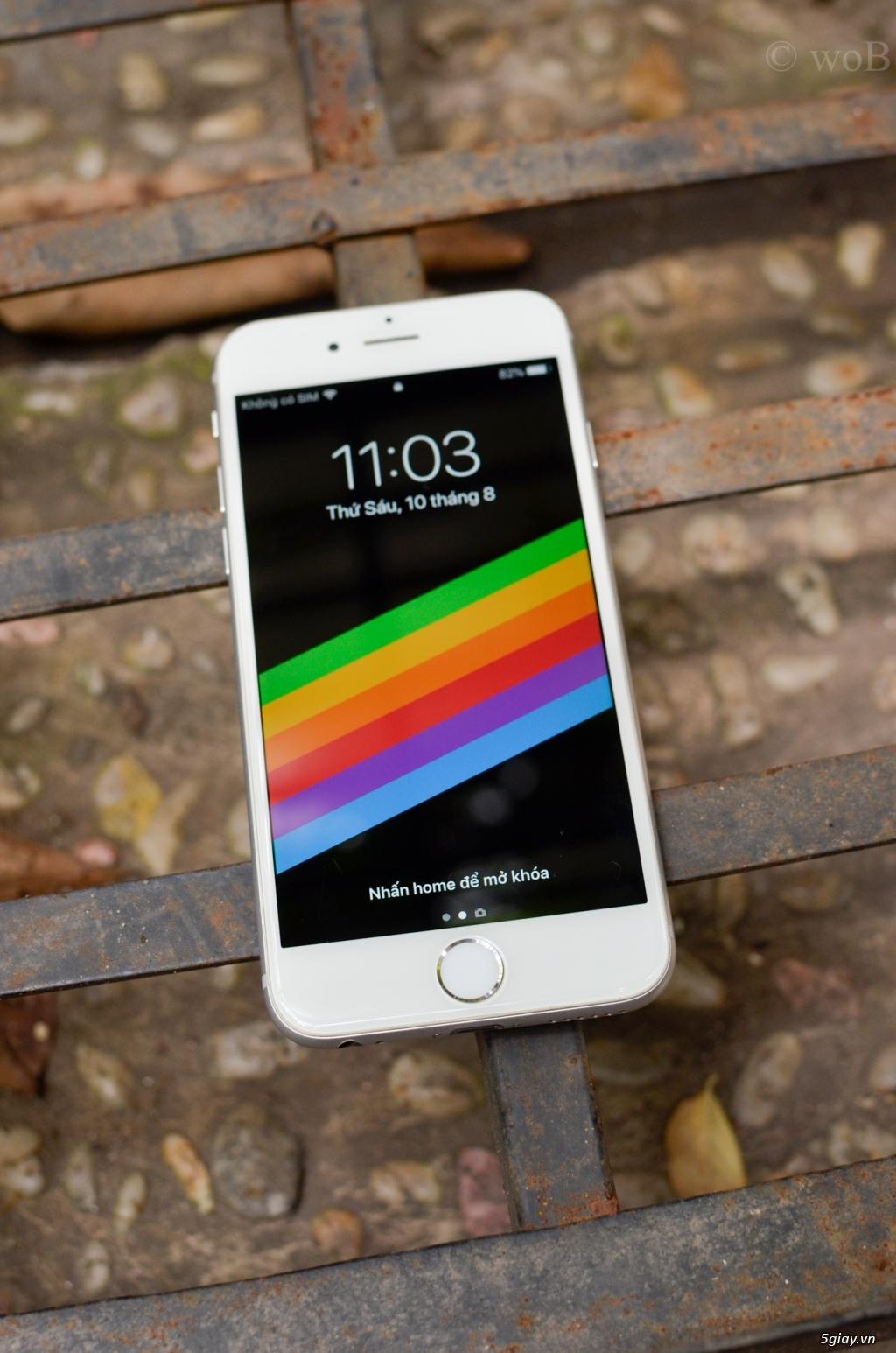 CẦN BÁN IPHONE 6 (64GB) MÀU BẠC, BẢN QUỐC TẾ - 3
