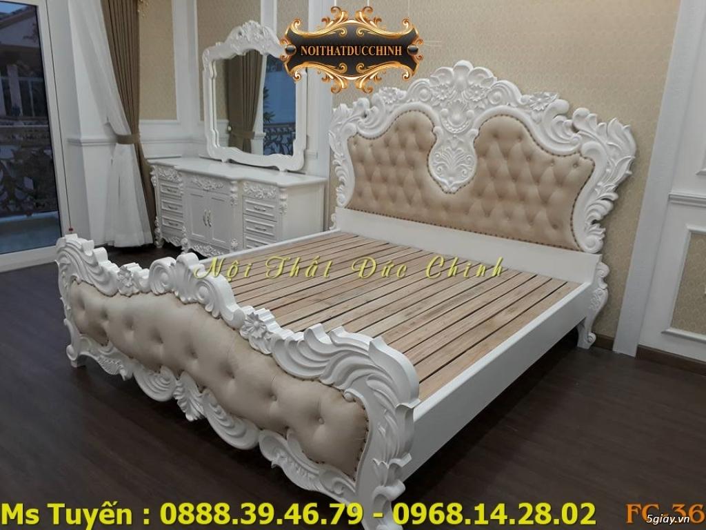 Ở đâu bán giường ngủ cổ điển Châu Âu giá rẻ tại quận 2, quận 7 - 6