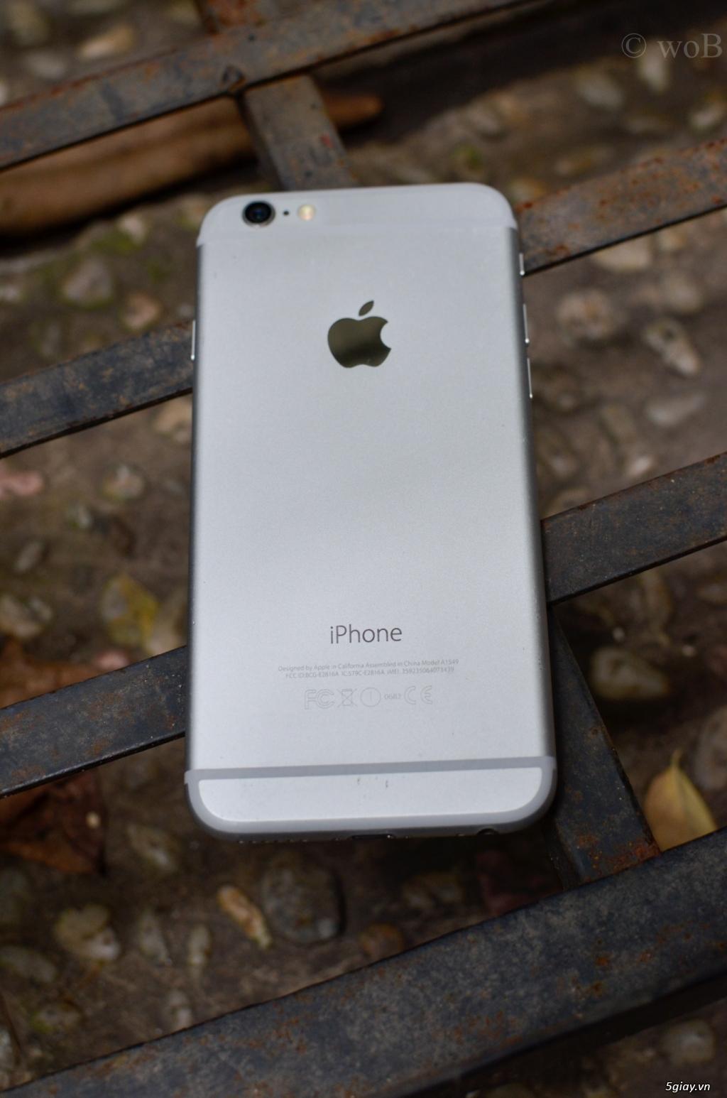 CẦN BÁN IPHONE 6 (64GB) MÀU BẠC, BẢN QUỐC TẾ - 4