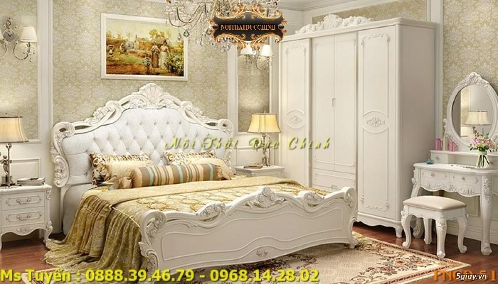 Ở đâu bán giường ngủ cổ điển Châu Âu giá rẻ tại quận 2, quận 7