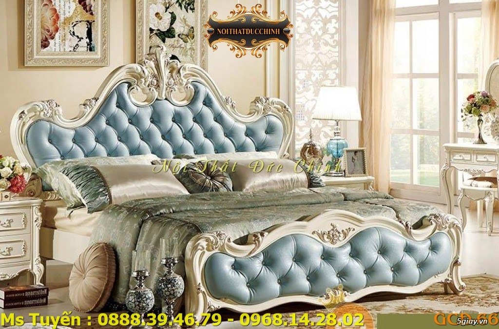Ở đâu bán giường ngủ cổ điển Châu Âu giá rẻ tại quận 2, quận 7 - 8