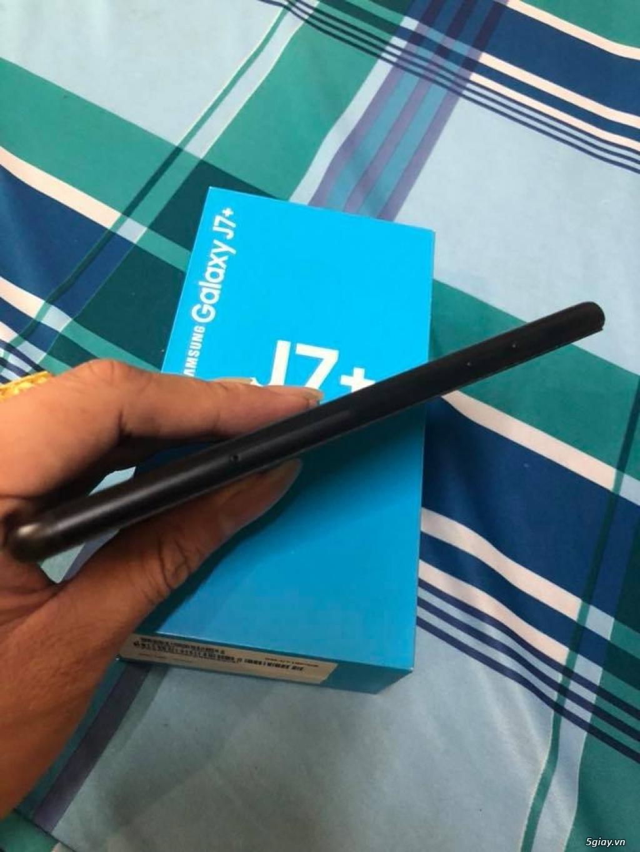 Samsung J7 Plus đẹp hàng chính hãng còn bh lâu - 2