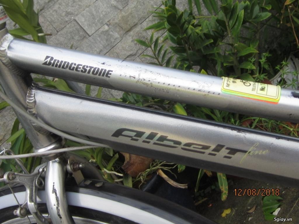 xe đạp Albelt Bridgestone ,  khung nhôm dã qua sử dụng - 14