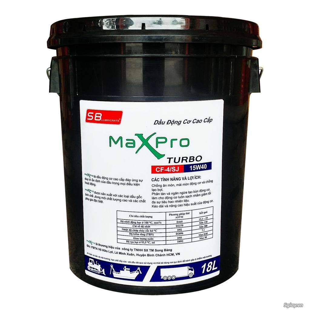 Dầu động cơ cao cấp Maxpro