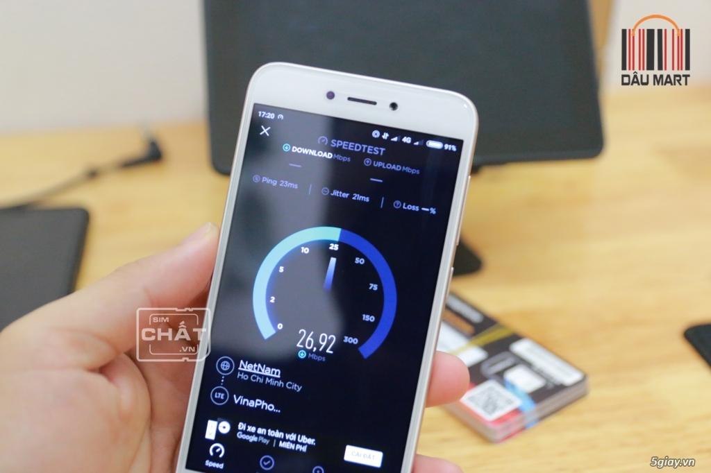 SIM 4G Vinaphone D500 Free Trọn Gói 1 Năm Với 5.6GB/Tháng