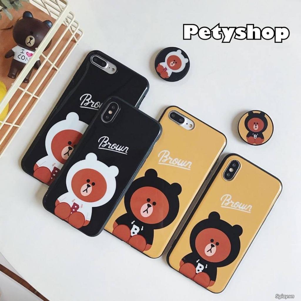 Ốp lưng iPhone 6 6S 6Plus 6SPlus 7 8 7Plus 8Plus X độc lạ dễ thương - 1