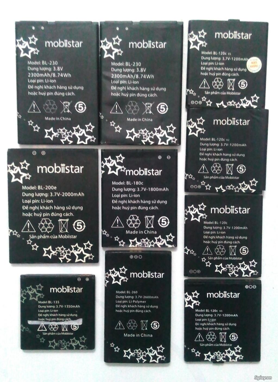 Chuyên mục ve chai pin Mobiistar tháo máy.