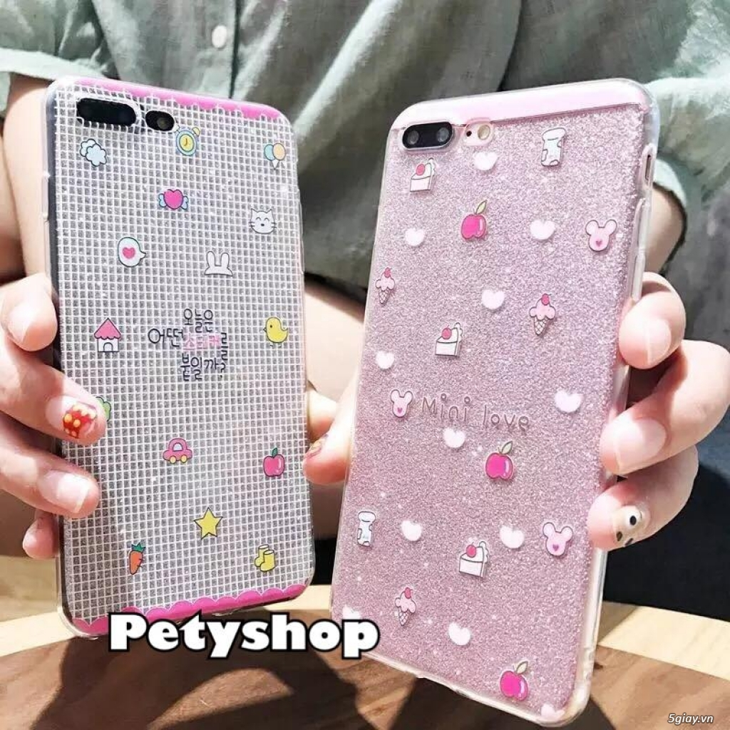 Ốp lưng iPhone 6 6S 6Plus 6SPlus 7 8 7Plus 8Plus X độc lạ dễ thương - 49
