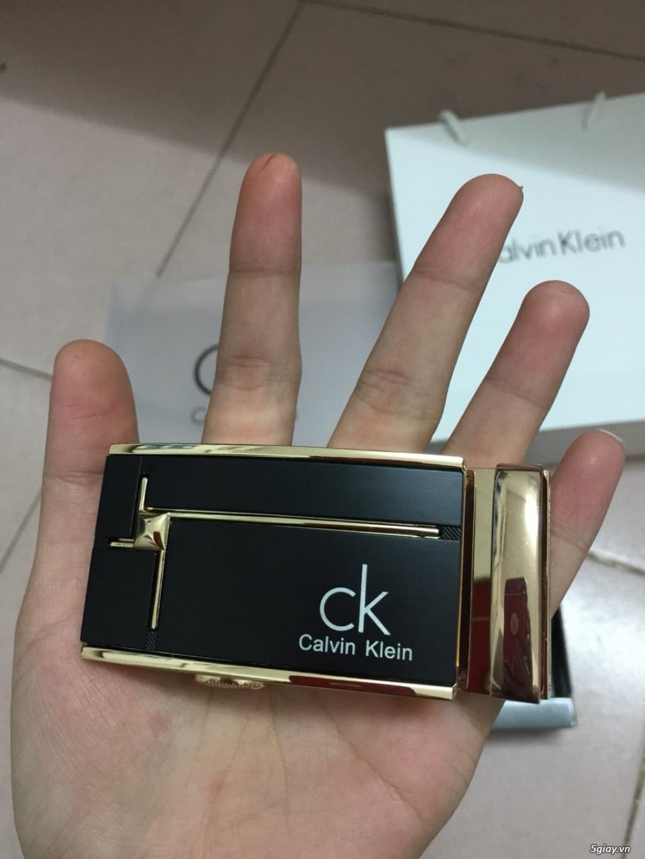 dây nịt - thắt lưng Calvin Klein chính hiệu xách tay cần bán - 4