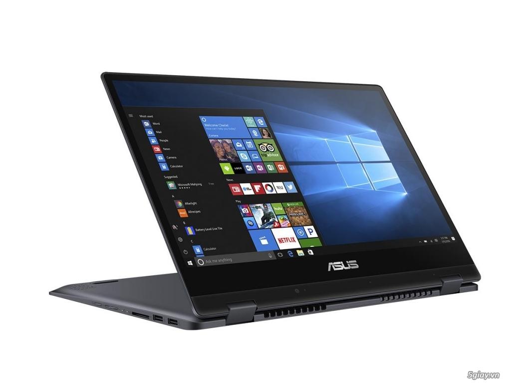 Laptop gập xoay mới VivoBook Flip 14 (TP412): mỏng hơn, nhẹ hơn, nhanh hơn 5 lần