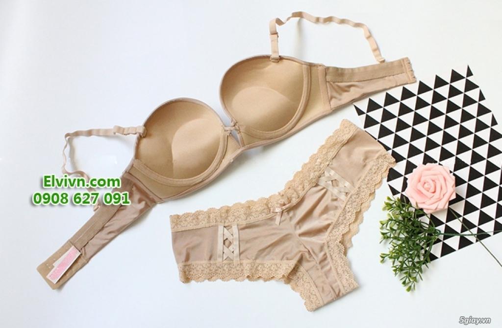 Áo ngực không dây, áo ngực mặc đầm hở lưng, áo ngực nâng ngực siêu dày - 14