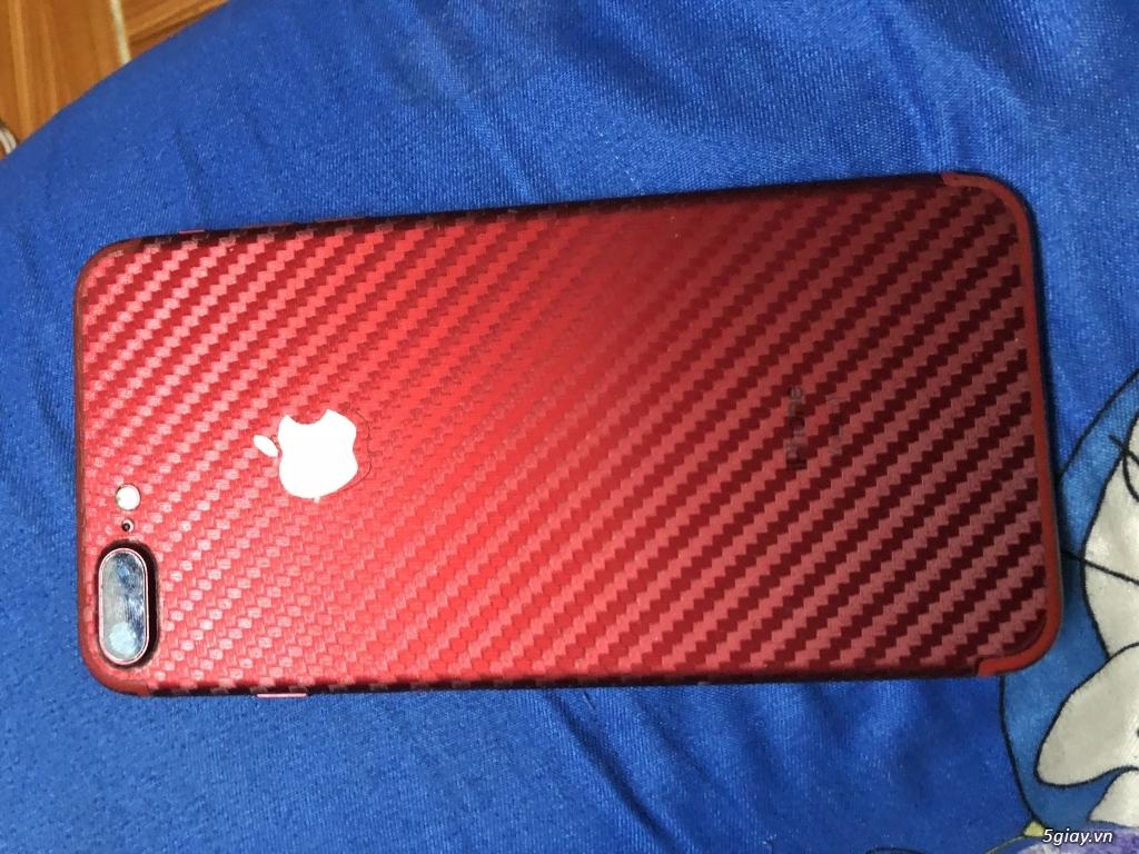 Bán iphone 7 plus 128g RED giá bèo 9trxxx - 2
