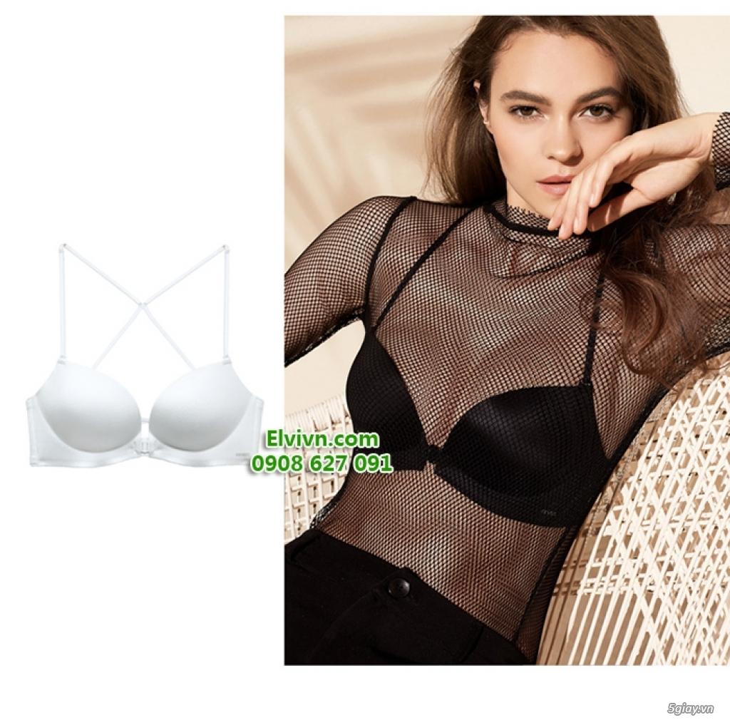 Áo ngực không dây, áo ngực mặc đầm hở lưng, áo ngực nâng ngực siêu dày - 32